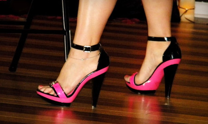 Vegas Stiletto Fitness - Multiple Locations: Ladies Night Out Package for Two or Flirty Dance Class for Two at Vegas Stiletto Fitness (Up to 52% Off)