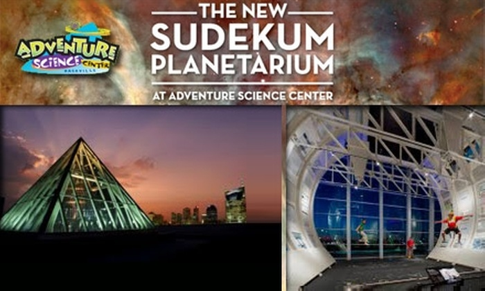 Adventure Science Center - Nashville-Davidson metropolitan government (balance): $8 for Admission and Planetarium Show at Adventure Science Center (Up to $17 Value)