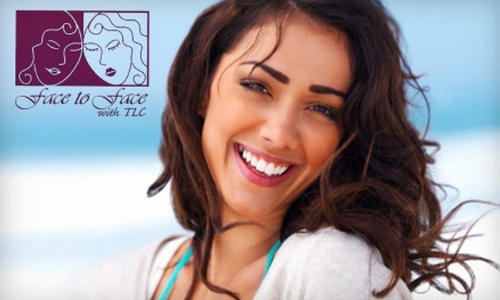 Face to Face with TLC - Stanford University: $85 for a Microdermabrasion Treatment with Caviar Mask or an LED Teeth-Whitening Treatment at Face to Face with TLC (Up to $150 Value)