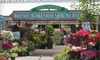 Bremec Garden Centers - Multiple Locations: $10 for $20 Worth of Plants and Garden Supplies at Bremec Garden Centers