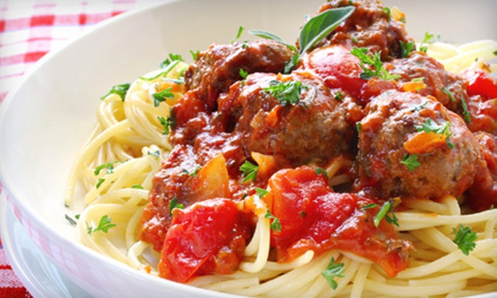 Doyle's Restaurant - Oak Forest - Garden Oaks: $16 for Spaghetti Dinner for Two at Doyle's Restaurant (Up to $32.80 Value)