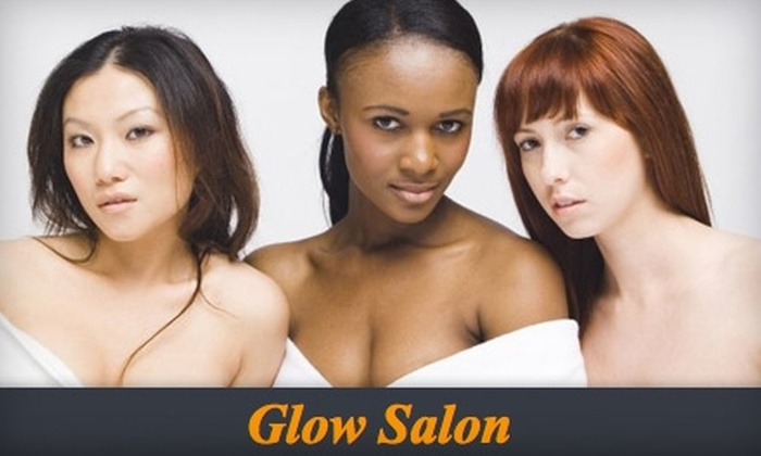 Glow Salon - Three Lakes: $15 for Brazilian Wax or Silver Level Mani-Pedi at Glow Salon