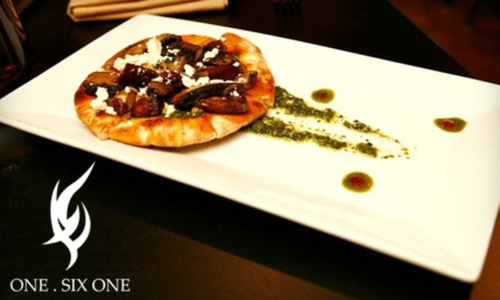 One. Six One - University Village / Little Italy: $20 for $40 Worth of International Cuisine at One. Six One