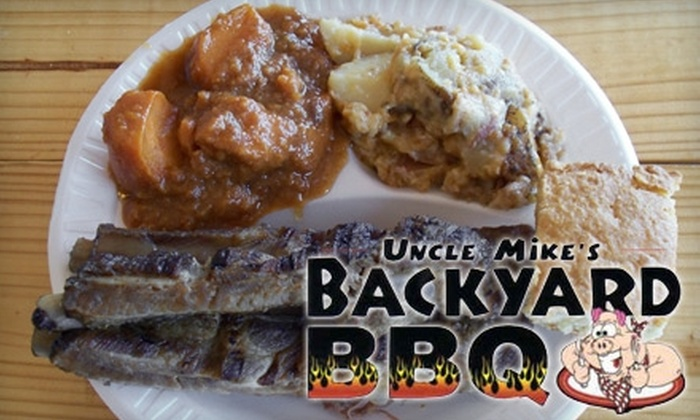 Uncle Mikes Backyard BBQ - Lower Allen: $6 For $12 Worth of Barbecued Fare, Side Dishes and Drinks at Uncle Mike's Backyard BBQ