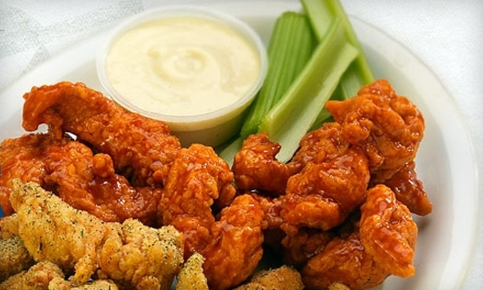 Wings Over Springfield - Sixteen Acres: $10 for $20 Worth of Wings, Burgers, and More at Wings Over Springfield
