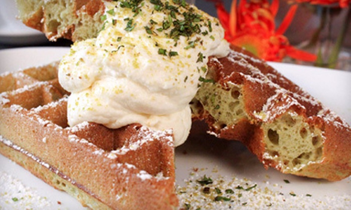 Waffles - South Loop: $19 for Brunch and Hot-Chocolate Flights for Two at Waffles (Up to $39.80 Value)