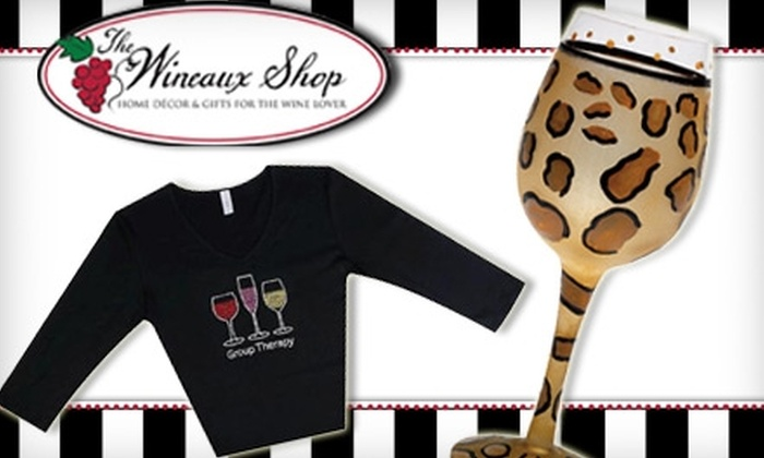 The Wineaux Shop - Annapolis: $15 for $30 Worth of Wine Themed Gifts at The Wineaux Shop