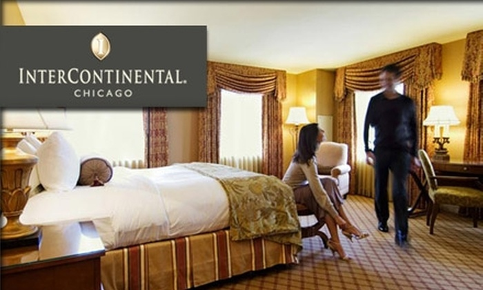 InterContinental Chicago - Near North Side: $99 for a Room at the Historic InterContinental Chicago on the Magnificent Mile ($249 Value)
