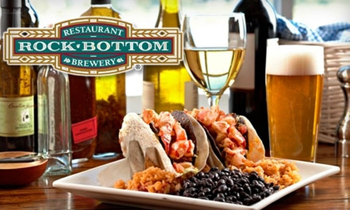 Rock Bottom Brewery  - Fourth Ward: $15 for $30 Worth of Beers and Fresh-From-Scratch Fare at Rock Bottom Brewery