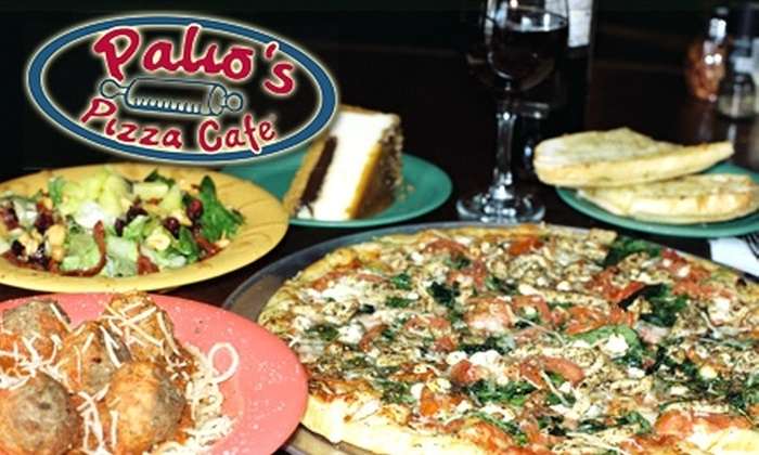 Palio's Pizza Cafe - Multiple Locations: $10 for $20 Worth of Pizza and More at Palio's Pizza Cafe