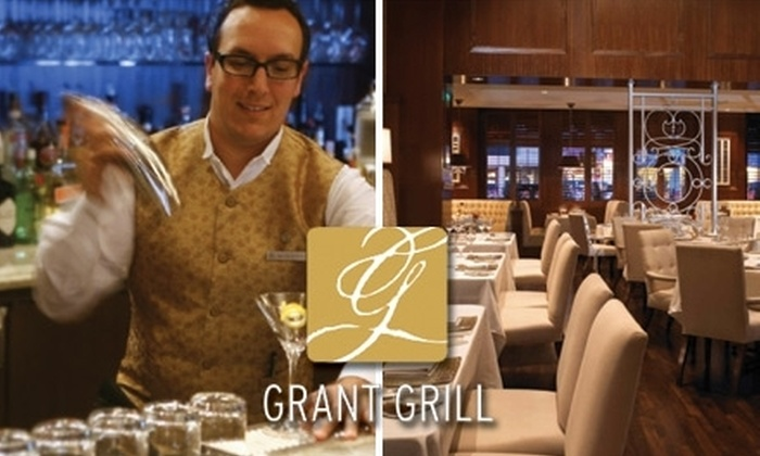 Grant Grill - Core-Columbia: $10 for Two Specialty Cocktails and a Mixology Question-and-Answer Session on May 14 at Grant Grill ($28 Value)