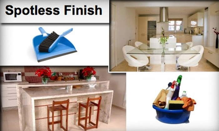 Spotless Finish - Baltimore: $50 for $110 Toward Two House-Cleaning Sessions With Spotless Finish
