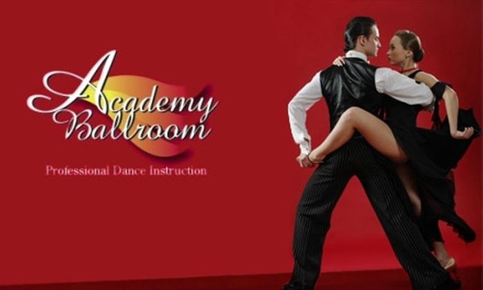 Academy Ballroom Cumberland - Cumberland: $30 for Six Dance Classes at Academy Ballroom Cumberland