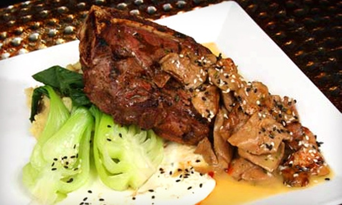 7 Bar & Grill - West Bloomfield: Sushi and Casual Steakhouse Dinner for Two or Four at 7 Bar & Grill in West Bloomfield