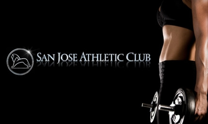 San Jose Athletic Club - San Jose: $29 for a One-Month Membership, 30-Minute Personal Training Session, and Waived Initiation and Processing Fees at San Jose Athletic Club ($79 Value)