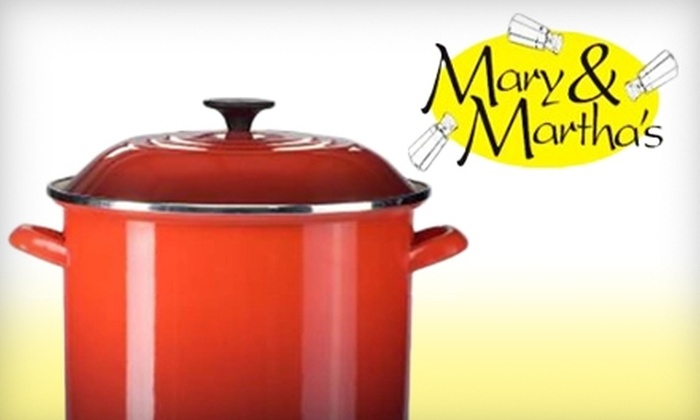 Mary & Martha's - Southeastern Columbia: $10 for $20 Worth of Kitchen Gadgets and Accessories at Mary & Martha's