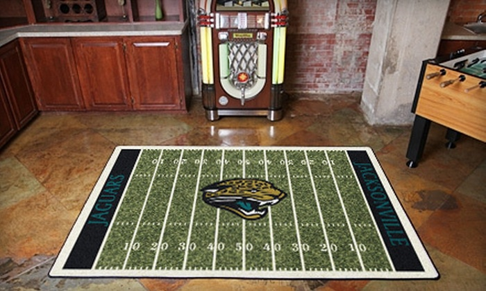"""My Sports Rug - Orange Park: $99 for Any 5'4""""x7'8"""" Sports-Team Floor Rug from My Sports Rug ($250 Value)"""