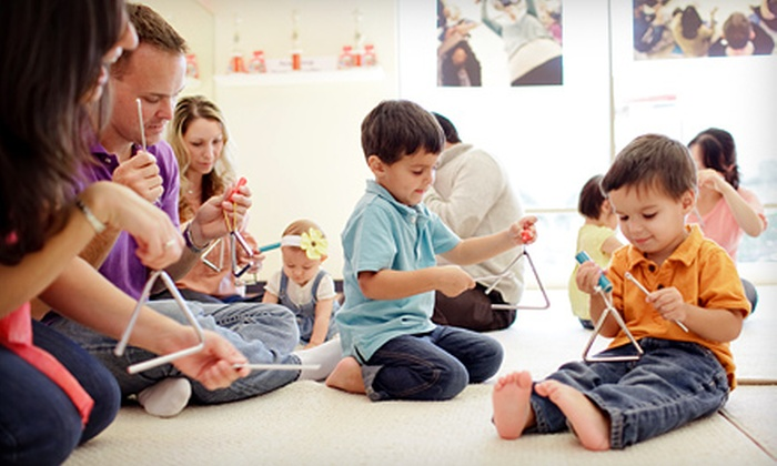 Music Together - Multiple Locations: $35 for Three Sing-Along Music Lessons and CD at Music Together ($75 Value)