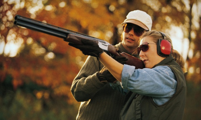 Drake Landing - Hectors Creek: $25 for One Round of Sporting Clays with Cart and Gun Rental at Drake Landing in Fuquay-Varina ($50 Value)