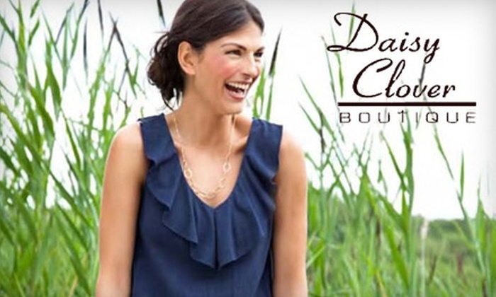 Daisy Clover Boutique - Webster Groves: $20 for $50 Worth of Jeans, Apparel, and Accessories at Daisy Clover Boutique in Webster Groves