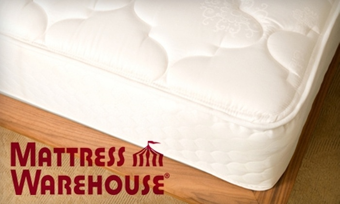 Mattress Warehouse - Multiple Locations: $50 for $200 Toward a Mattress or Mattress Set at Mattress Warehouse