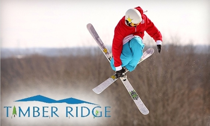 Timber Ridge - Pine Grove: $37 for Two Adult Lift Tickets (Up to $74 Value) or $13 for One Junior Lift Ticket (Up to $26 Value) at Timber Ridge in Gobles