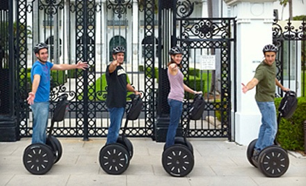 One-Hour Segway Tour - Palm Beach Segway Tours & Scooter Rentals in West Palm Beach