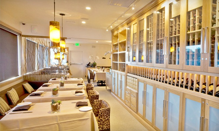 Charlie's - Eastern Malibu: Three-Course Dinner of New American Cuisine for Two or Dinner for Two with Wine at Charlie's in Malibu (Up to 53% Off)