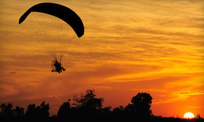 Paramotor Tours - Beverly: Paragliding Adventure for One or Two from Paramotor Tours (Up to 67% Off)