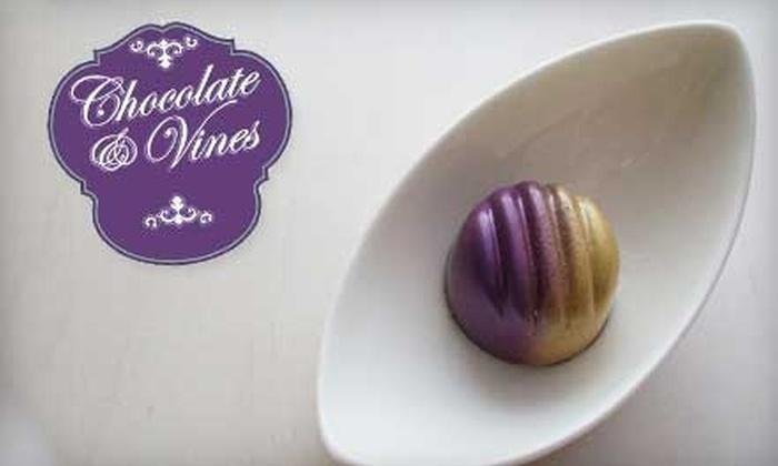 Chocolate & Vines - Atlantic-University: $10 for $20 Worth Of Chocolate and Wine at Chocolate & Vines