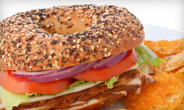 Everything Bagel - St. Augustine: $9 for One Dozen Bagels and One Pound of Cream Cheese at Everything Bagel in St. Augustine (Up to $19.49 Value)