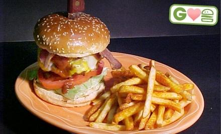 $25 Groupon to Hamburger Mary's - Hamburger Mary's  in Palm Springs