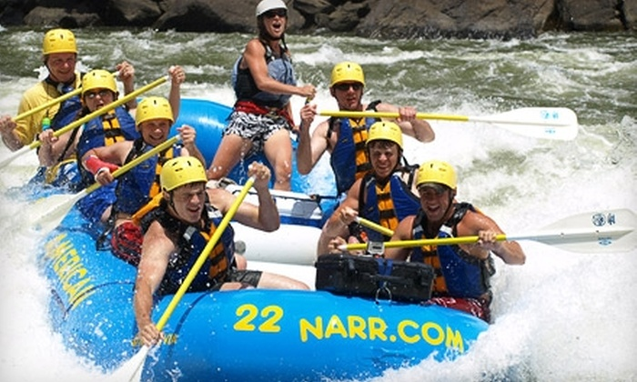 North American River Runners - Gainesville: $99 for Two-Day Camping Trip with Rafting, Mountain Biking, and Three Meals from North American River Runners in Minden, WV (Up to $237 Value)