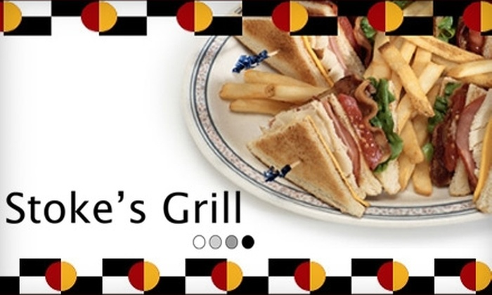Stoke's Grill - Ross: $7 for $15 Worth of Casual, Creative Fare at Stoke's Grill