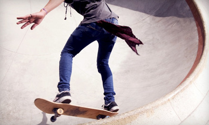 Below the Bridge Indoor Skate Park - Constable Hook: Below the Bridge Indoor Skate-Park Outing with 10, 20, or 30 Passes in Bayonne (Up to 88% Off)
