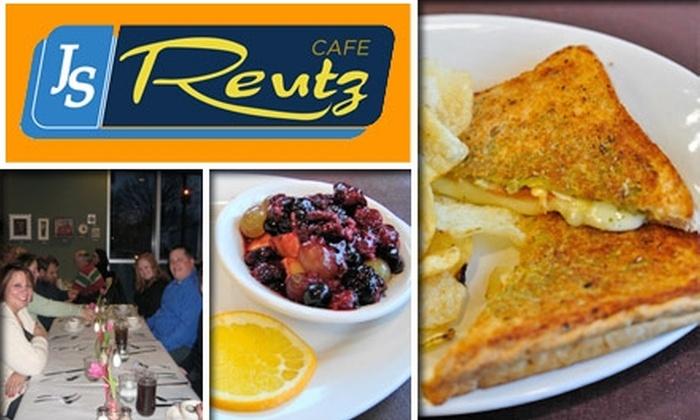 J.S. Reutz Café - Indianapolis: $5 for $10 Worth of Comforting Cafe Eats at J.S. Reutz Café