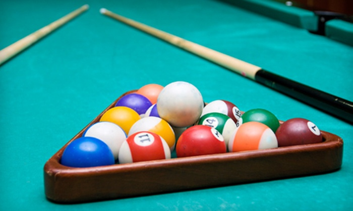 The Rack - Warner Center: $11 for a One-Hour Pool Outing with Two Noncraft Beers at The Rack at Westfield Promenade at Woodland Hills ($24 Value)