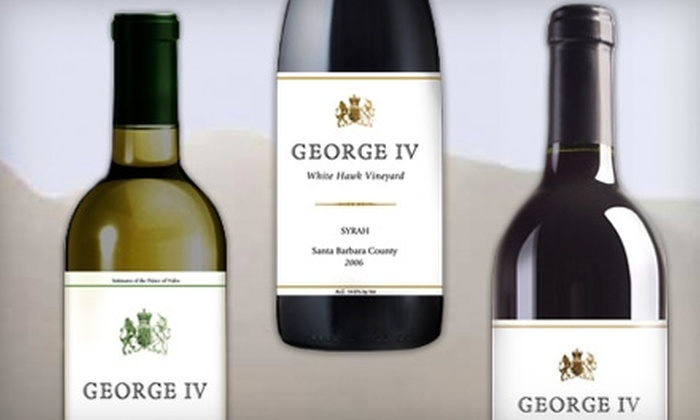 George IV Wines: $40 for $100 Worth of Wine from George IV Wines