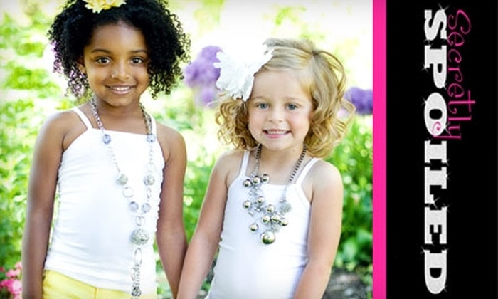 Secretly Spoiled: $35 for $75 Worth of Fashionable Children's Clothing from Secretly Spoiled