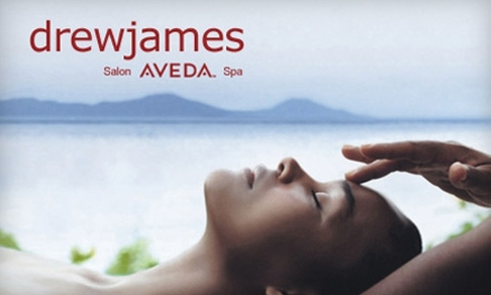 Drew James Salons - Multiple Locations: $79 for a Spa Package at Drew James Salons ($160 Value)