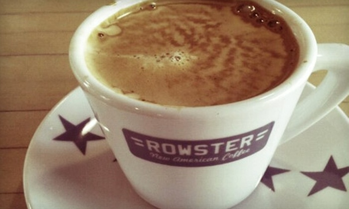 Rowster New American Coffee - Madison Area: $10 for $20 Worth of Brewed or Roasted Coffee and Accessories at Rowster New American Coffee
