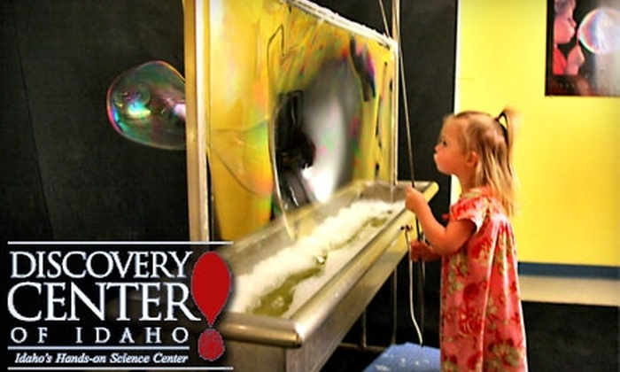Discovery Center of Idaho - Downtown: $12 for a Family Day Pass to Discovery Center of Idaho ($25 Value)