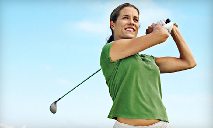 Striker Golf - Appleridge Estates: Swing Evaluation and Lessons, Virtual Golf for Two, or Swing Evaluation at Striker Golf in Wheat Ridge (Up to 78% Off)