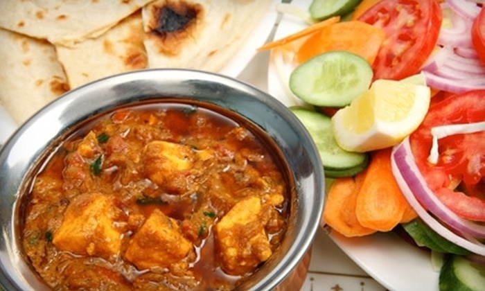 Mount Everest Restaurant - Elmwood: $15 for a Two-Course Indian and Nepali Dinner for Two at Mount Everest Restaurant in Berkeley (Up to $33.97 Value)
