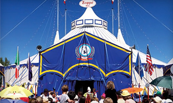 $25 for Two Tickets to See Zoppé Family Circus ($58 Value). Six Options Available.