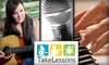 TakeLessons  - New York City: $45 for 3 Half-Hour Music or Singing Lessons from TakeLessons
