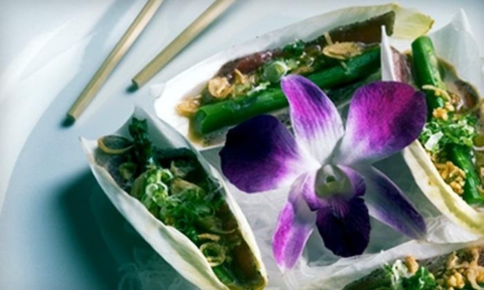 Sakimura - Simsbury Center: Half Off Japanese Cuisine and Drinks at Sakimura in Simsbury. Choose Between Two Options.