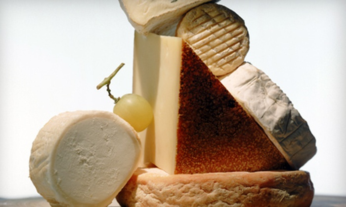 International Delicatessen - Wyomissing: $20 for $40 Worth of Specialty Cheese and Gourmet Cuisine or Chocolate, Cheese, and Cider Gift Basket at International Delicatessen in Wyomissing