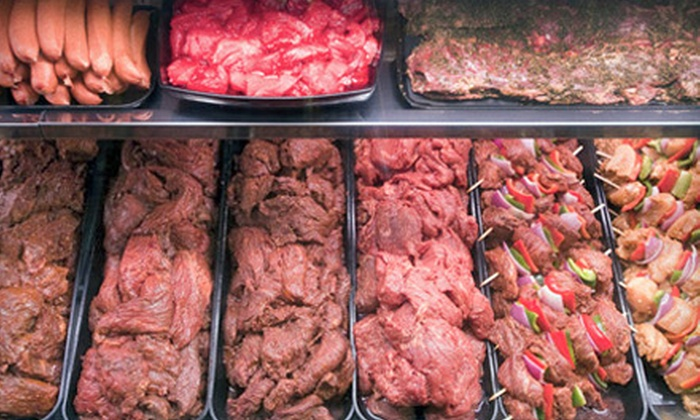 The Meat House - Multiple Locations: $10 for $20 Worth of Premium Meats at The Meat House. Three Locations Available.