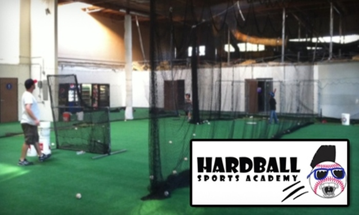 Hardball Sports Academy - Sorrento Valley: $10 for a 30-Minute Batting Cage Session at Hardball Sports Academy (Up to $25 Value)